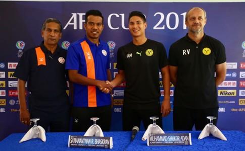 B. Sathianathan, Shukor Adan, Felda United, Roland Muller, Risto Vidakovic, Ceres Negros FC