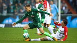 Werder Bremen FC Augsburg Bundesliga 29102017