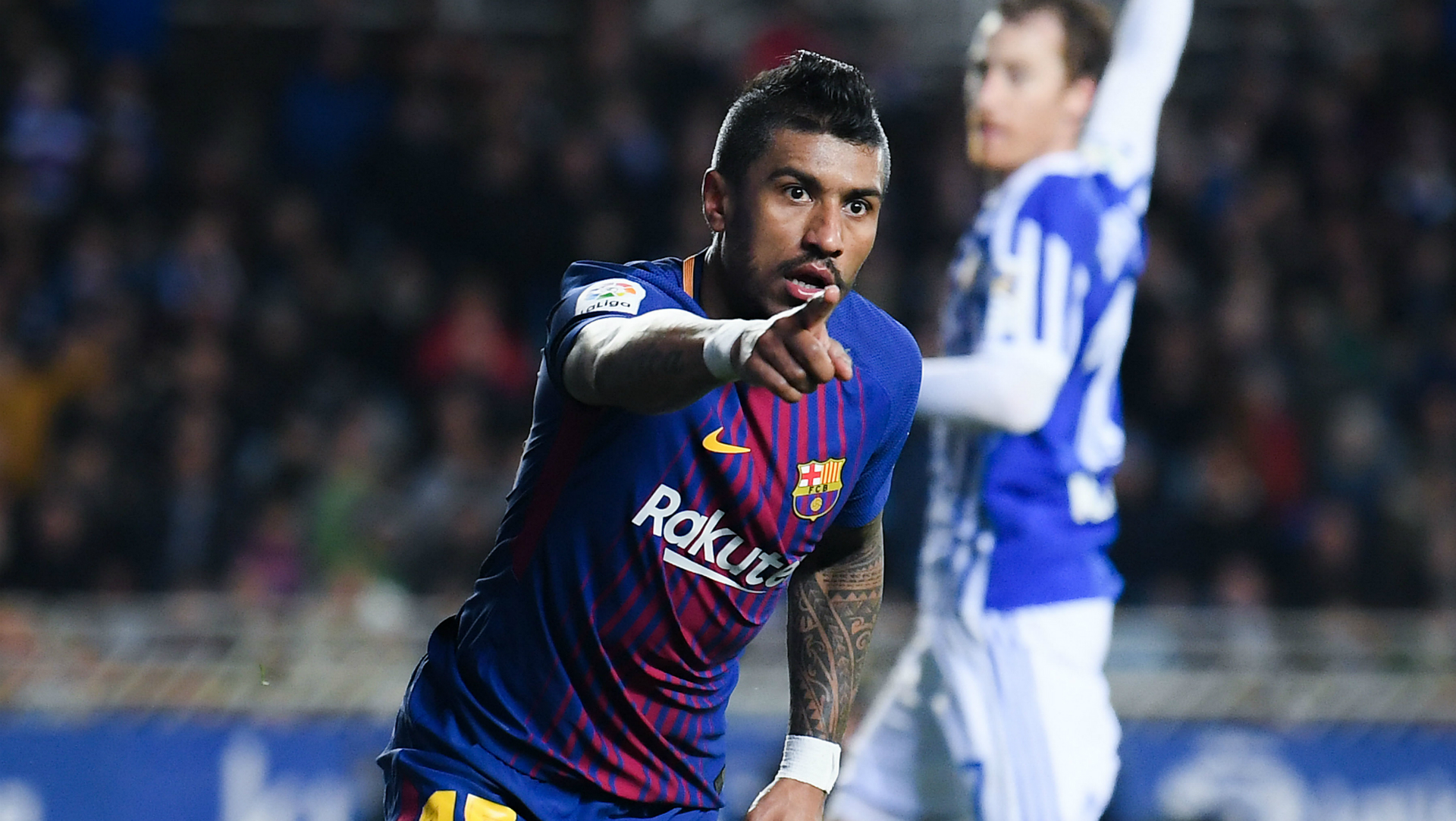 Paulinho Barcelona Real Sociedad