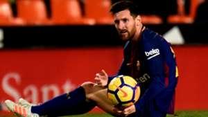 Lionel Messi Valencia Barcelona LaLiga 26112017