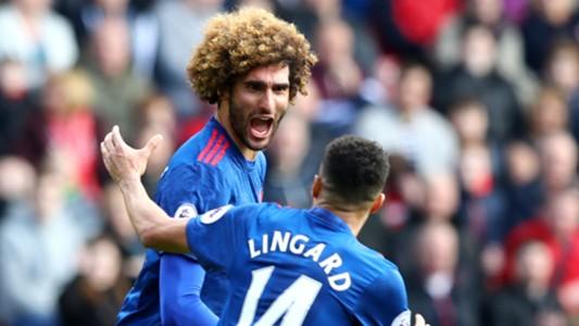 Marouane Fellaini Jesse Lingard Manchester United