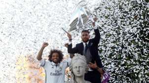 Sergio Ramos Marcelo Real Madrid celebration