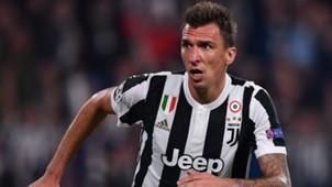 Mario Mandzukic Juventus Olympiacos Champions League