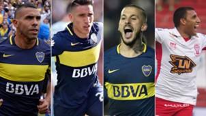 Tevez Centurion Benedetto Wanchope Boca 2017-18
