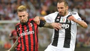 Castillejo Chiellini Juventus Milan Supercoppa
