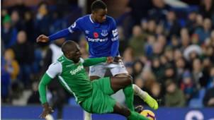 Gor Mahia defender Joash Onyango v Everton.
