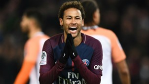 Neymar PSG Montpellier Ligue 1 27012018