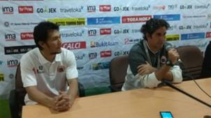 Stefano Cugura (Teco) & Michael Orah - Persija Jakarta