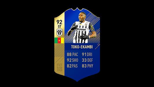 FIFA 18 Ligue 1 Team of the Season Toko Ekambi