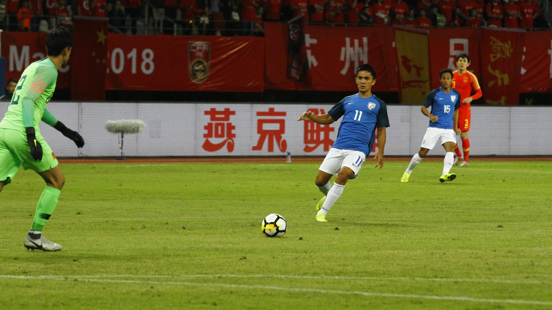 China vs India 2018
