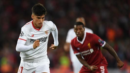 Joaquin Correa Liverpool Sevilla Champions League 13092017