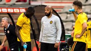 GERMANY ONLY Romelu Lukaku Thierry Henry Belgium