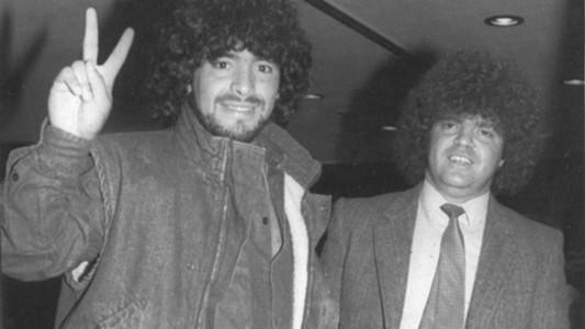 Diego Maradona Jorge Cyterszpiler