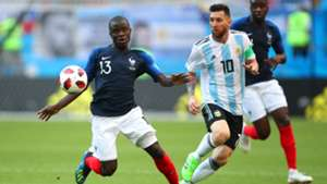 N'Golo Kante Lionel Messi France Argentina World Cup 30062018