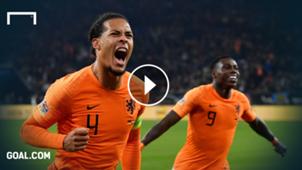 Virgil van Dijk Netherlands GFX