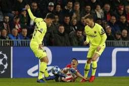 Lenglet Lozano PSV Barcelona 28-11-18