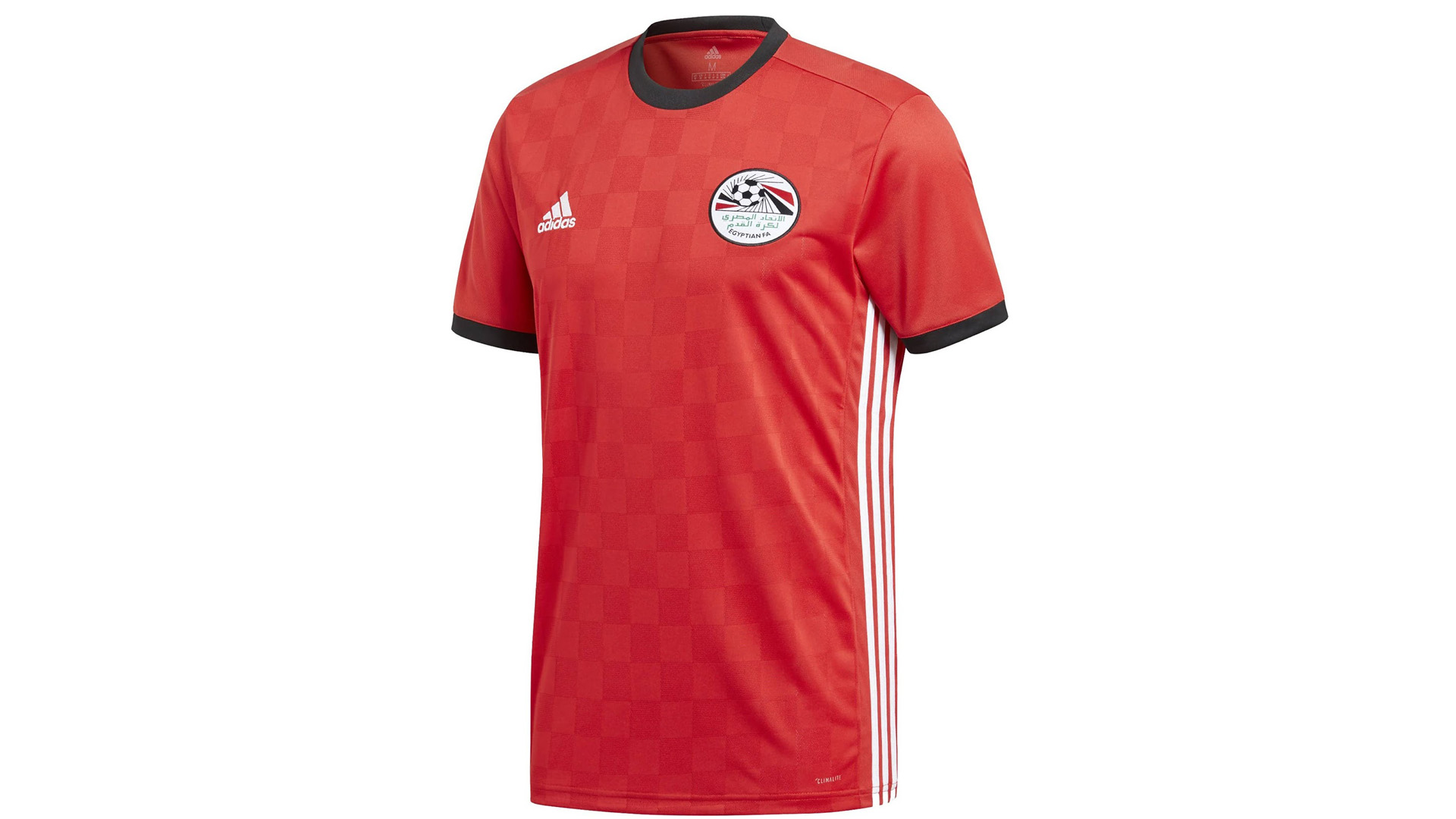 Egipto Camiseta Titular 2018 Egypt Home Kit