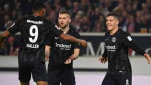 ONLY GERMANY Sebastien Haller Luka Jovic Ante Rebic Eintracht Frankfurt