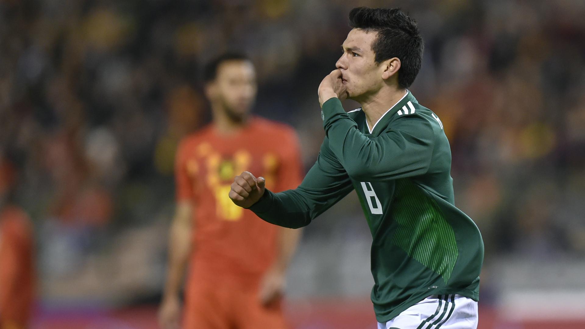 Hirving Lozano Bélgica vs México