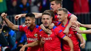 CSKA celebrate vs Real Madrid