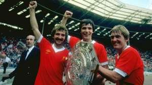 Graeme Souness Alan Hansen Kenny Dalglish Liverpool 1979 Charity Shield