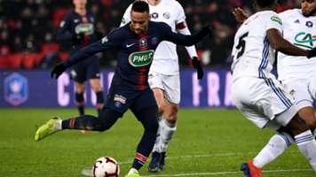 Neymar PSG Strasbourg Coupe de France 23012019