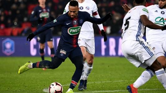 Le psg se qualifie en coupe de france mais perd neymar 2 - Coupe de france strasbourg ...