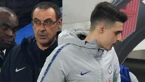 Maurizio Sarri Kepa FC Chelsea