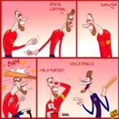 Cartoon: Pique retires from Spain