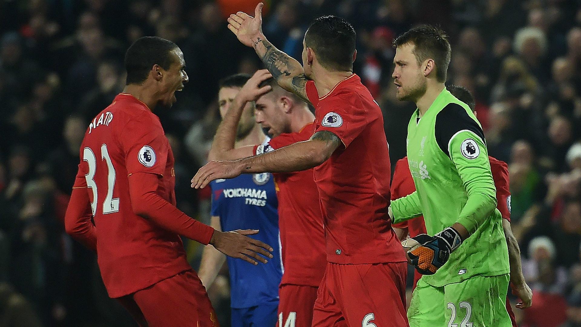 HD Simon Mignolet Liverpool v Chelsea