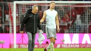 Christian Streich Manuel Neuer SC Freiburg Bayern München Bundesliga 03112018