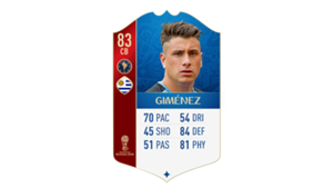 FIFA 18 World Cup CONMEBOL Ratings Gimenez