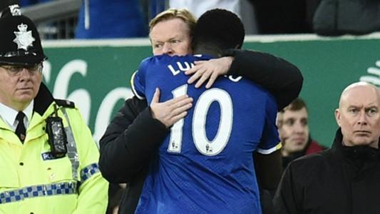Koeman Lukaku Everton