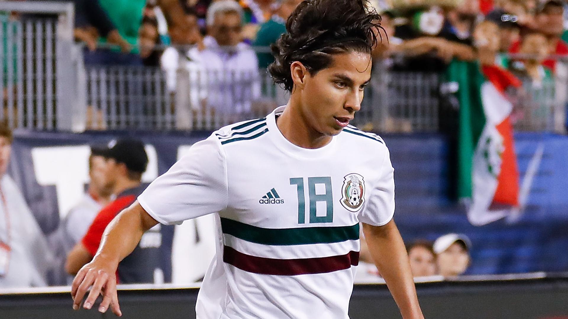 Diego Lainez Mexico USMNT 2018