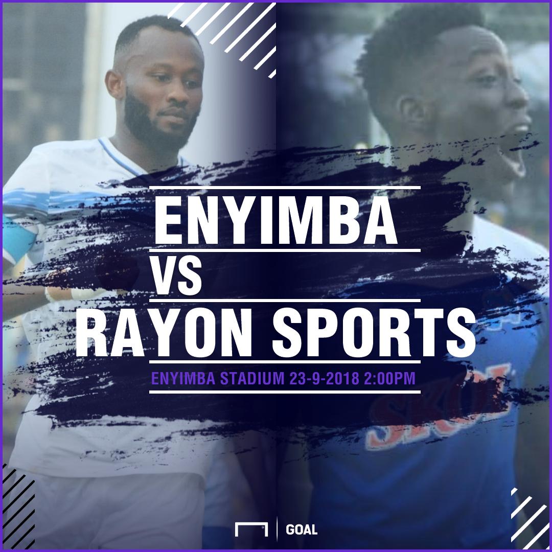 Enyimba Rayon Sports Fixture PS