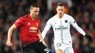 Nemanja Matic Julian Draxler Manchester United PSG 120219