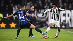 Ivan Perisic, Juan Cuadrado, Juventus, Inter, Serie A, 09122017