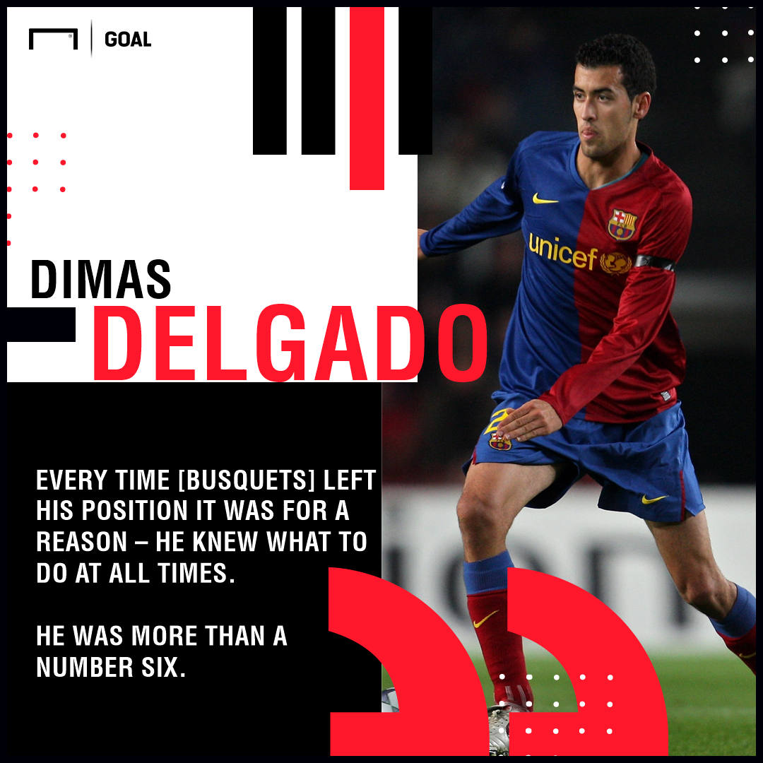 Dimas on Busquets