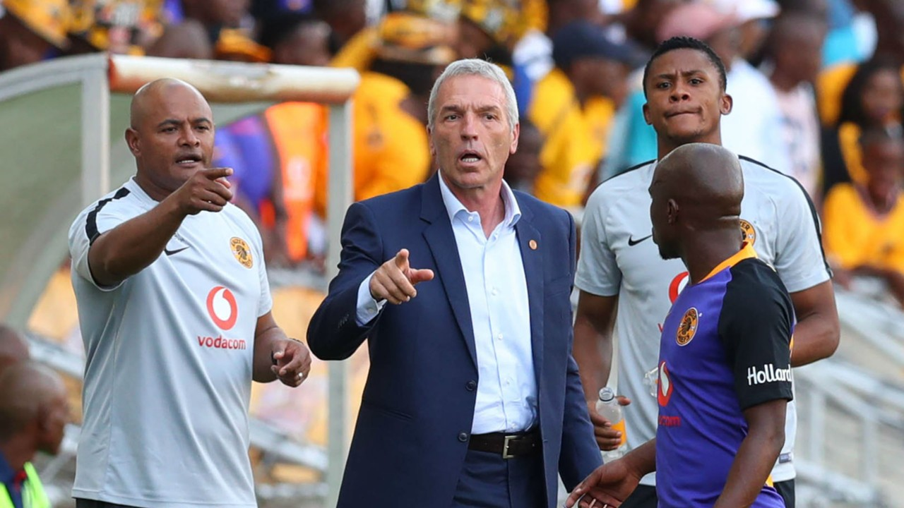 Kaizer Chiefs Ernst Middendorp, February 2019