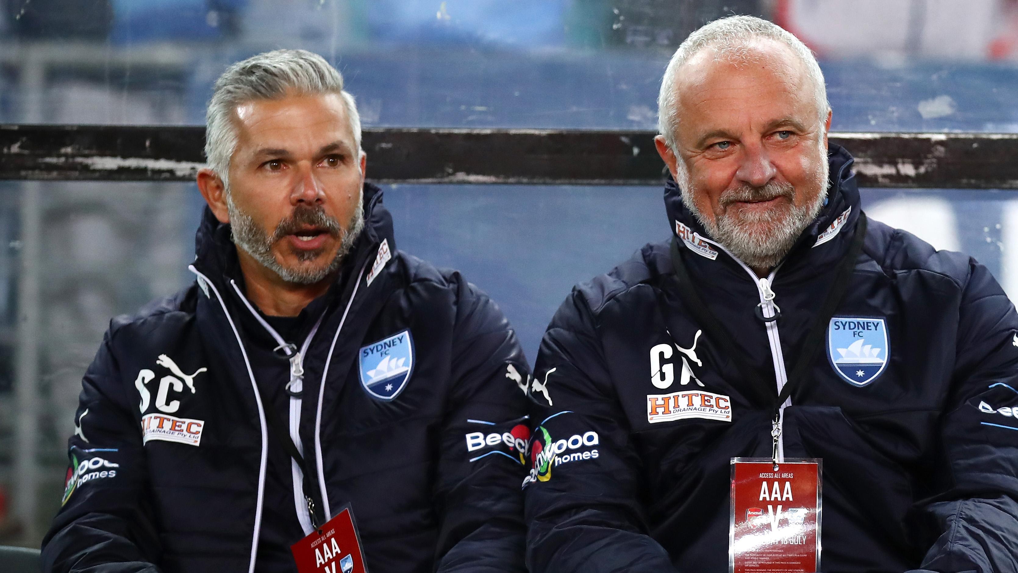 Steve Corica Graham Arnold Sydney FC