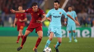 Sergio Busquets AS ROM FC Barcelona 10042018