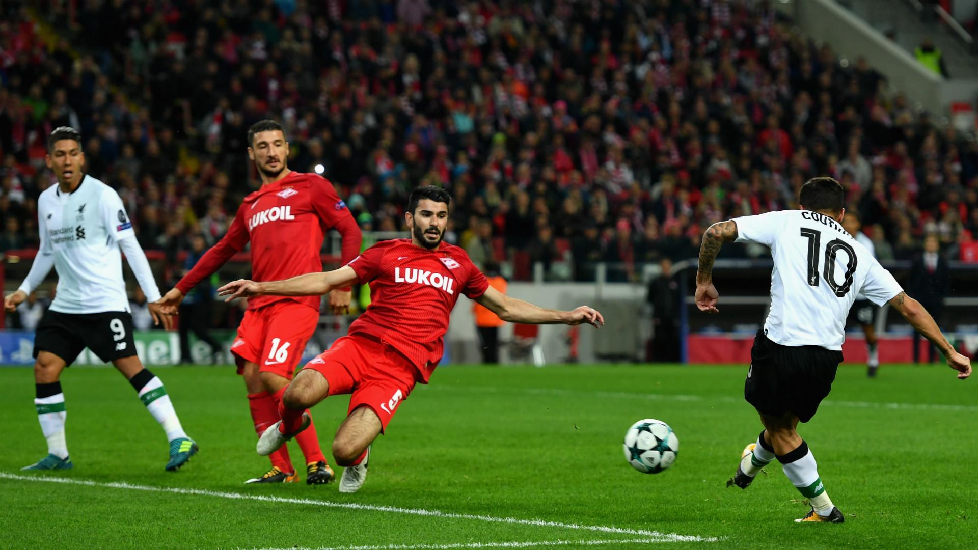 Coutinho goal Spartak