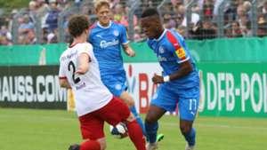 Makana Baku nets first career hat-trick as Holstein Kiel hit Salmrohr for six