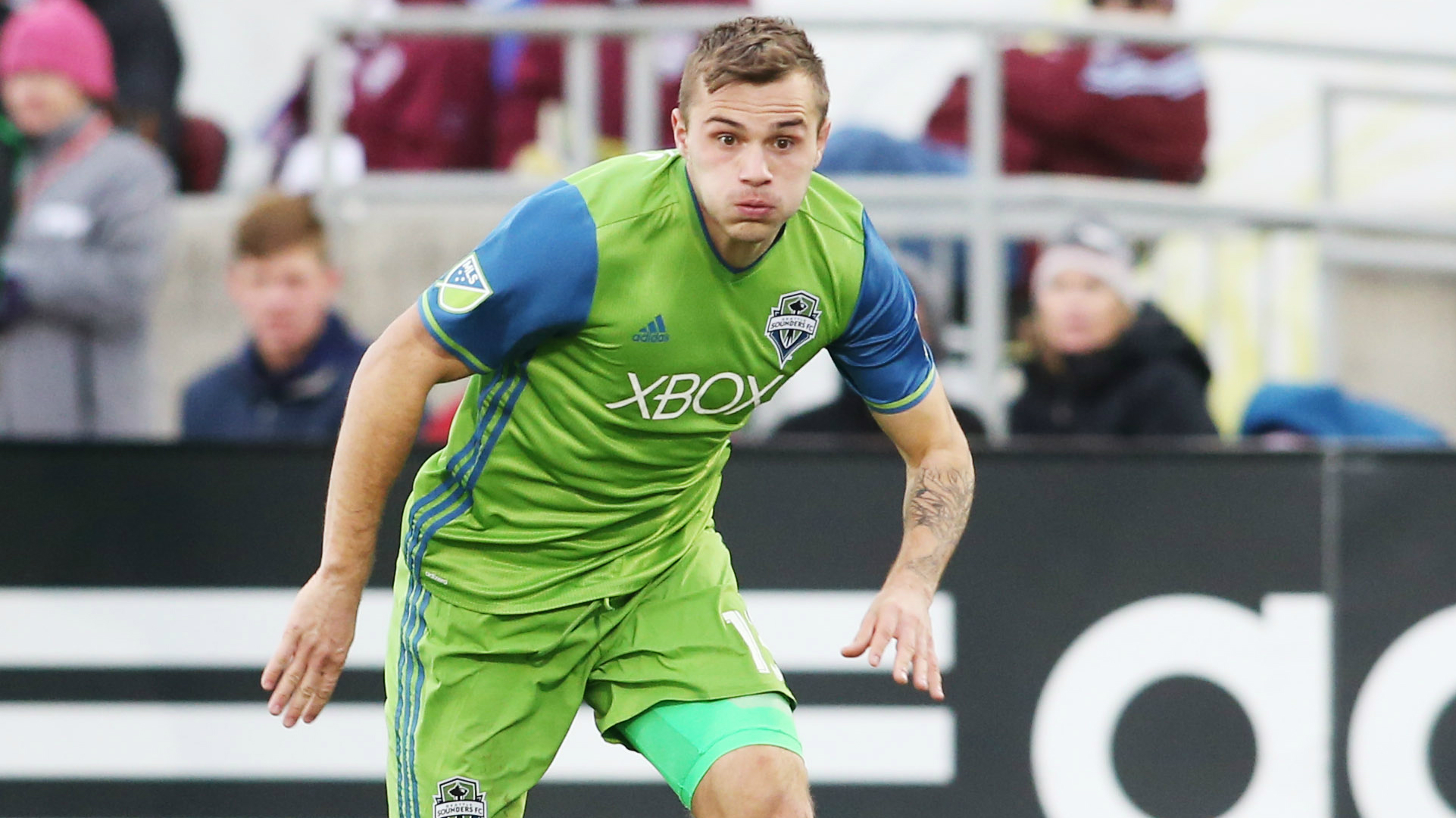 Jordan Morris Seattle Sounders MLS 11272016