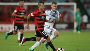 Nico Martinez Western Sydney Wanderers v Melbourne Victory A-League 10122016