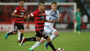 Nico Martinez Western Sydney Wanderers v Melbourne Victory A-League 10122016