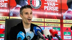 Robin van Persie, Presentatie Feyenoord, 22012018