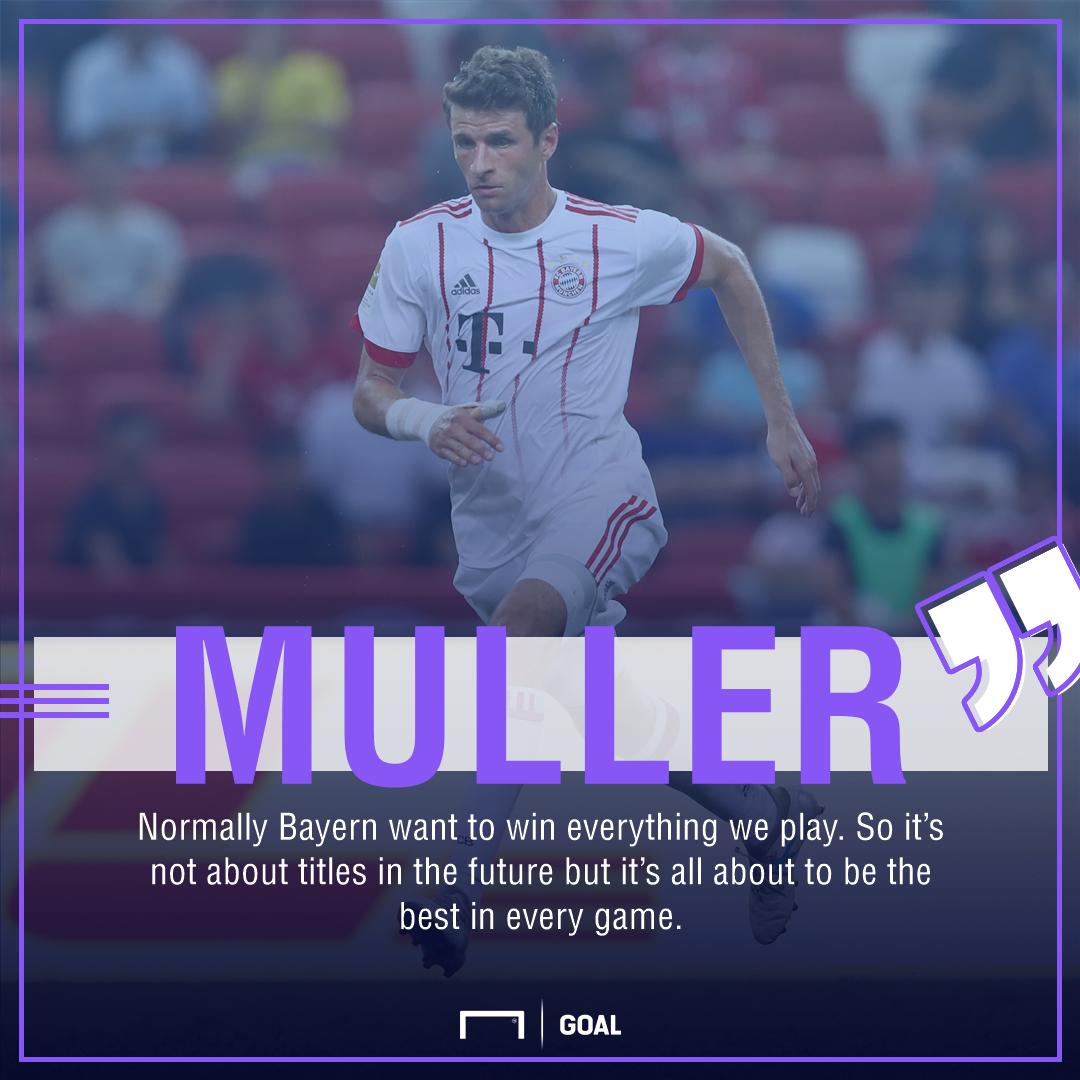 Thomas Muller Bayern Munich titles