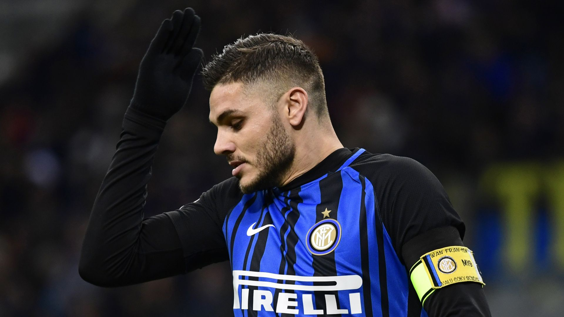Mauro Icardi Inter Roma