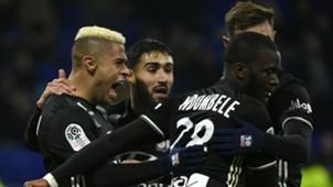 Mariano Diaz Nabil Fekir Lyon Lille Ligue 1 29112017